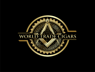 World Trade Cigars logo design