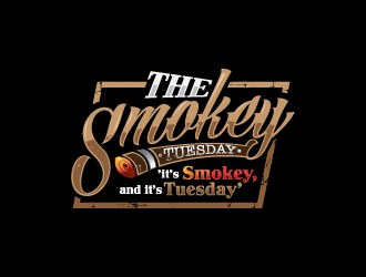 The Smokey Tuesday logo design