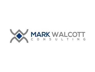 Mark Walcott logo design