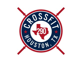 CrossFit 290 or CF290 logo design