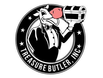 Treasure Butler, Inc. logo design