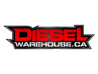 Dieselwarehouse.ca logo design