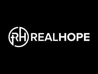RealHope logo design