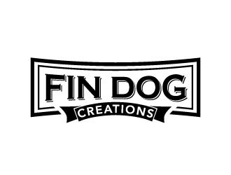 FIN DOG CREATIONS logo design