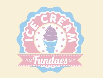 Ice Cream Fundaes logo design