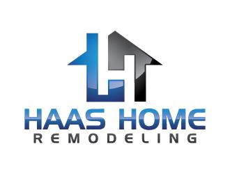 HAAS HOME REMODELING logo design
