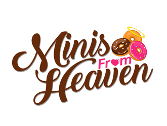 Minis from Heaven logo design
