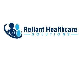 Reliant Healthcare Solutions logo design