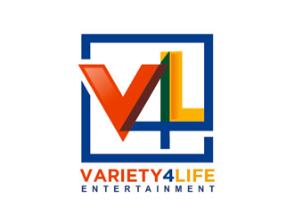 Variety4Life Entertainment logo design