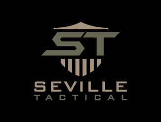 Seville Tactical logo design