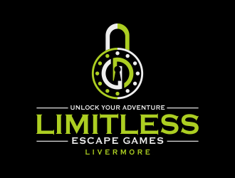 Limitless Escape Games logo design