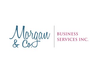 Morgan & Co. Business Services Inc. logo design