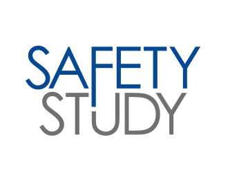 "The SAFETY Study   (or drop the ""the"" if it looks better) logo design"