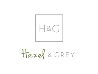 Hazel & Grey logo design