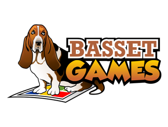 Basset Games logo design