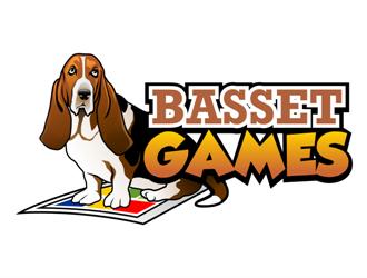 Basset Games logo design