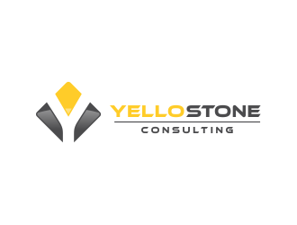 YELLOSTONE logo design