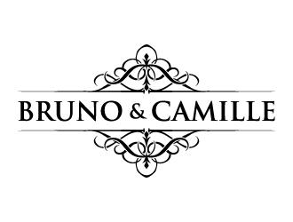 Bruno & Camille logo design