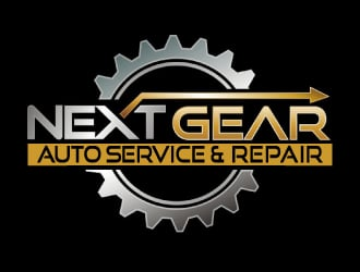 Next Gear Auto Service & Repair logo design