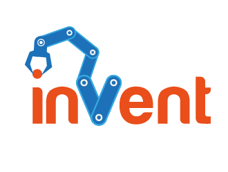 Invent! logo design