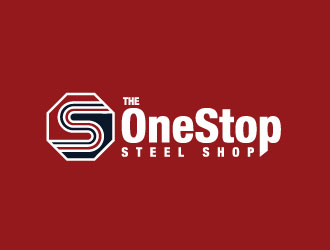 The One Stop Steel Shop logo design