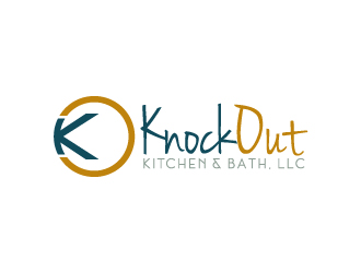 Knock Out Kitchen & Bath, LLC logo design