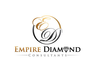 Empire Diamond Consultants logo design