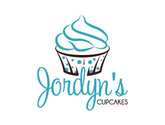 Jordyn's Cupcakes logo design