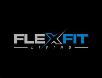 FlexFit Living logo design