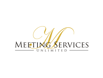Meeting Services Unlimited logo design