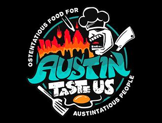Austin Taste Us logo design