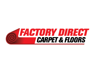 Factory Direct Carpet LLC logo design