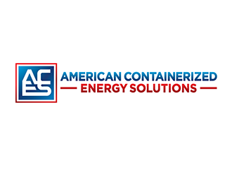 American Containerized Energy Solutions LLC logo design