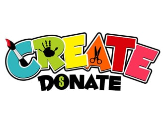 Create Donate logo design