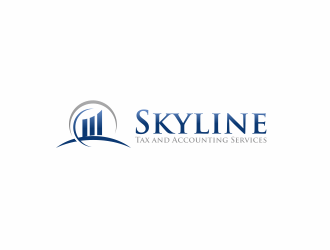 Skyline Tax and Accounting Services logo design