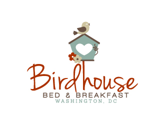 Birdhouse Bed and Breakfast in Washington, DC logo design