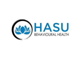 Hasu Behavioural Health logo design
