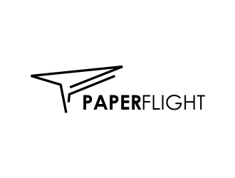 Paper Flight logo design