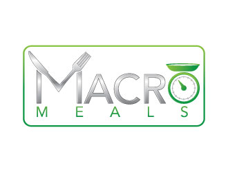 The Macro Meals logo design