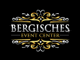 Bergisches Event Center logo design