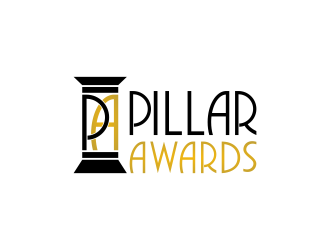Pillar Awards logo design