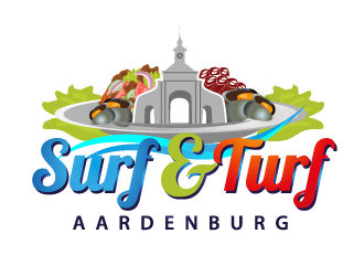Surf & Turf Aardenburg logo design