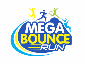 Mega Bounce Run logo design