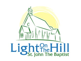 St. John / Light On The Hill logo design