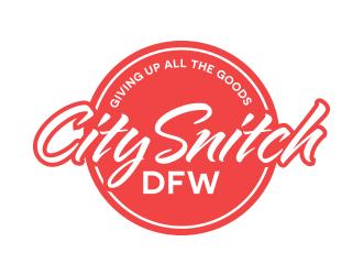 City Snitch DFW logo design