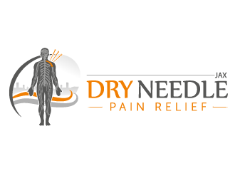 Dry Needle Pain Relief Jax logo design