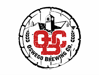 Oswego Brewing Company logo design
