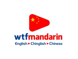 wtfmandarin logo design