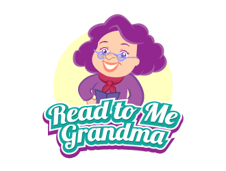 Read to Me Grandma logo design