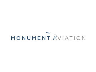 Monument Aviation logo design